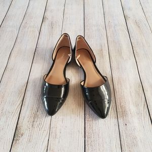 **3 for$30**  Patent black flats